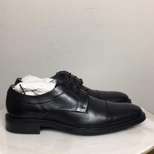 Cole Haan Black Men's Dress Tie Oxford Sz 9.5